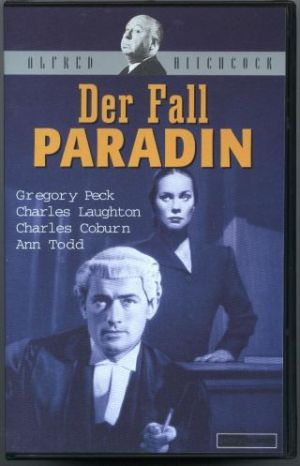 The Paradine Case Vhs cover