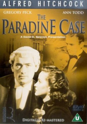 The Paradine Case Dvd cover