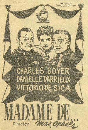 Madame de... 711x1052