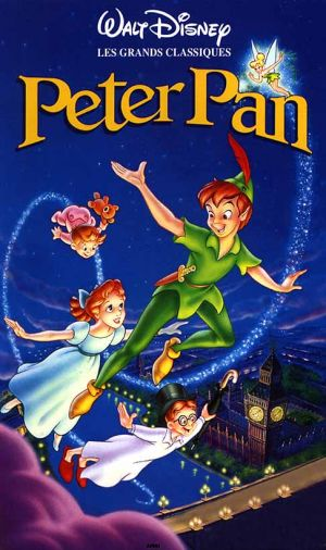 Peter Pan Vhs cover