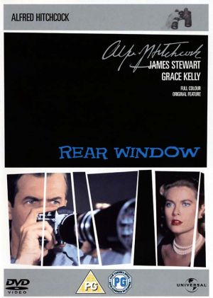 Rear Window Dvd cover