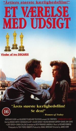 A Room with a View Vhs cover
