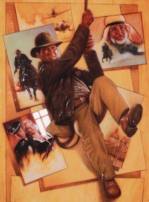 Indiana Jones and the Last Crusade 581x784