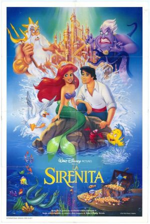 The Little Mermaid 580x869