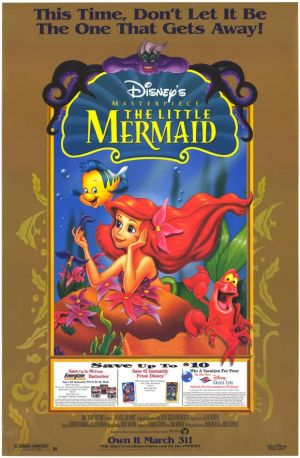 The Little Mermaid 580x886