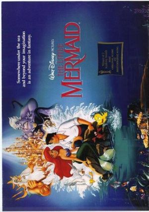The Little Mermaid 408x580