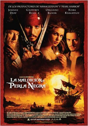 Pirates of the Caribbean: The Curse of the Black Pearl 422x600