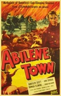 Abilene Town poster