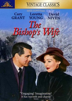 The Bishop's Wife Vhs cover