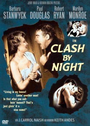 Clash by Night Dvd cover