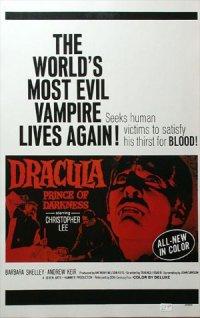 Drácula, el príncipe de las tinieblas poster