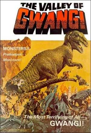 The Valley of Gwangi Cover