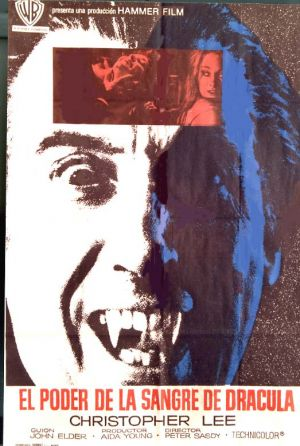 Taste the Blood of Dracula Vhs cover