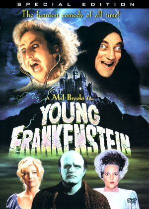 Young Frankenstein Dvd cover