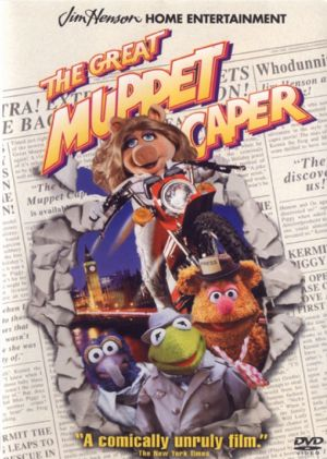 The Great Muppet Caper Dvd cover