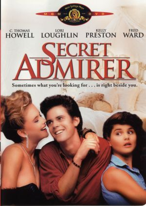 Secret Admirer Dvd cover