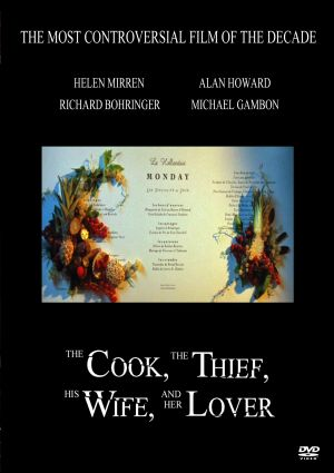 The Cook the Thief His Wife & Her Lover Cover