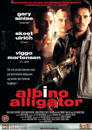 Albino Alligator Dvd cover