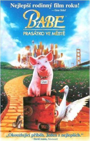 Schweinchen Babe in der großen Stadt 322x507