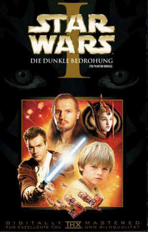 Star Wars: Episode I - The Phantom Menace Vhs cover