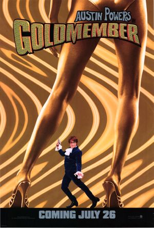Austin Powers in Goldmember Teaser poster