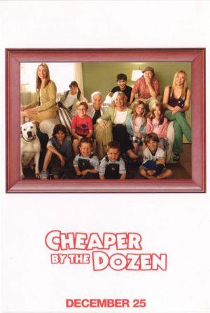 Cheaper by the Dozen 400x597