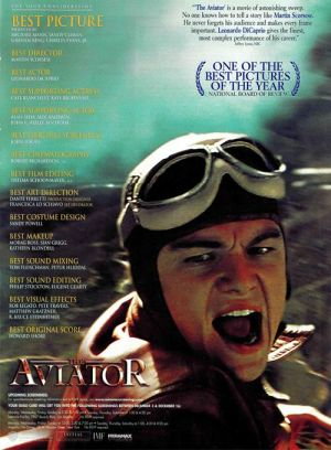 The Aviator For your consideration poster