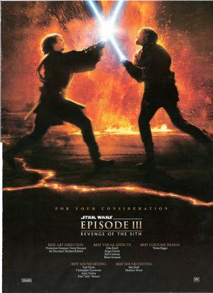 Star Wars: Episodio III - La venganza de los Sith 500x689