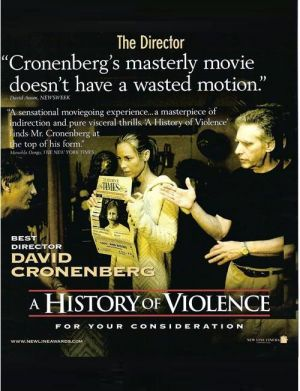 A History of Violence For your consideration poster