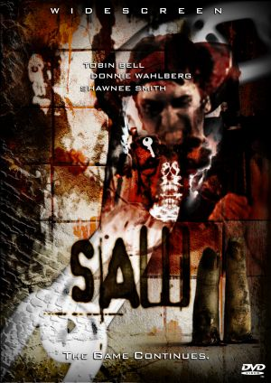 Saw II Dvd cover