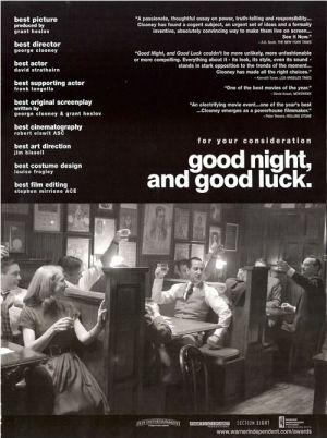 Good Night, and Good Luck. 500x670
