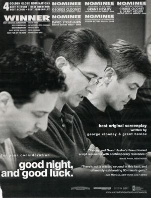 Good Night, and Good Luck. 500x657