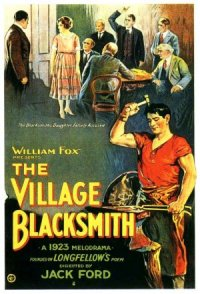 The Village Blacksmith poster