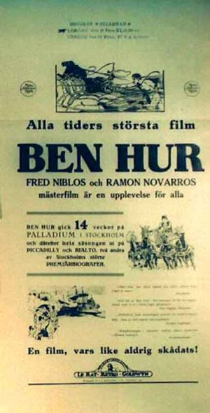 Ben-Hur: A Tale of the Christ 407x800