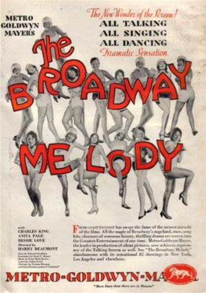 The Broadway Melody 350x497