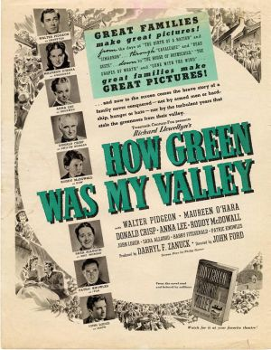 How Green Was My Valley 698x900