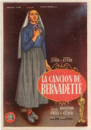 The Song of Bernadette 1181x1683