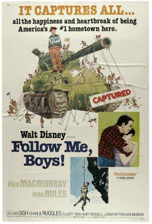 Follow Me, Boys! Poster