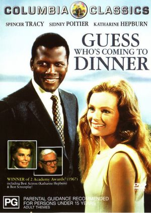 Guess Who's Coming to Dinner Dvd cover
