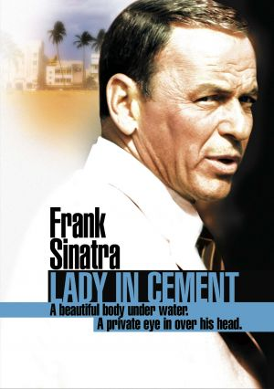 Lady in Cement Dvd cover