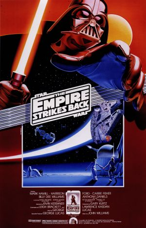 Star Wars: Episode V - The Empire Strikes Back Re-release poster