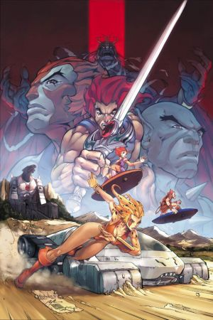 Thundercats Movie Actors on Key Art For  Thundercats