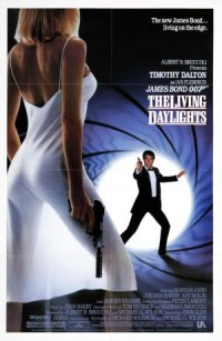 James Bond 007: The Living Daylights poster