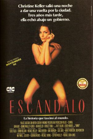 Scandal Vhs cover