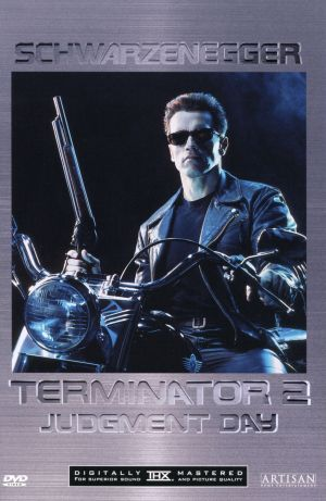 Terminator 2: Judgment Day Dvd cover