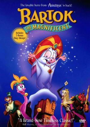 Bartok the Magnificent Cover