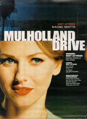 Mulholland Dr. For your consideration poster