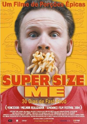 supersize me movie analysis Director morgan spurlock's social experiment in fast-food gastronomy sees him attempting to subsist uniquely on food from the mcdonald's menu for an entire month.