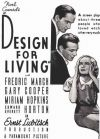 Design for Living Poster