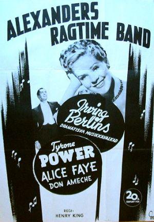 Alexander's Ragtime Band 341x492